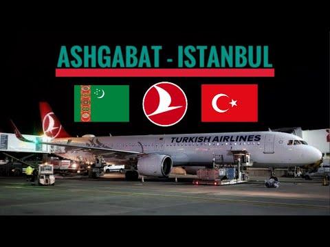 TRIPREPORT | Turkish Airlines (ECONOMY) | Airbus A321 | Ashgabat - Istanbul