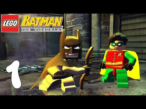 NUEVA SERIE! LEGO BATMAN! A REPARTIR BAT-COLLEJAS! Capitulo 1!