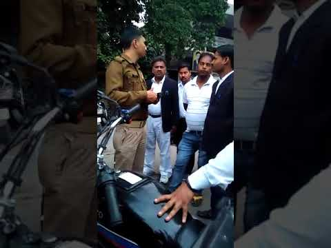 thief caught at kanpur court compound