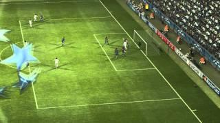 PES 2012 Uefa Champions League Barcelona vs Real Madrid full match HD