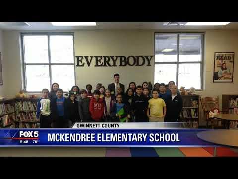 FOX 5 Storm Team visits McKendree Elementary School