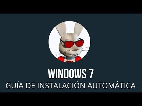Windows 7 Install Spanish