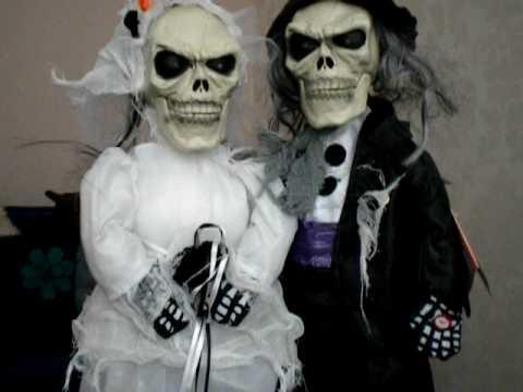 Halloween Skeleton Bride Groom YouTube