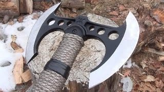 M48 Double Bladed Tactical Tomahawk Review, Mods, Throws