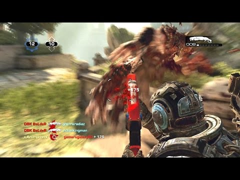 PUNCHING POTS AND SHOOTING SWEATS! (Gears of War 3) With TheRazoredEdge!