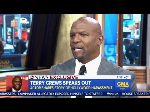 Terry Crews: Speaks Out On Being Victim Of Sexual Harassment  GMA