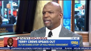 terry crews speaks out on being victim of sexual harassment gma