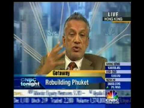 Gulu Lalvani Royal Phuket Marina Chairman Interviewed on CNBC