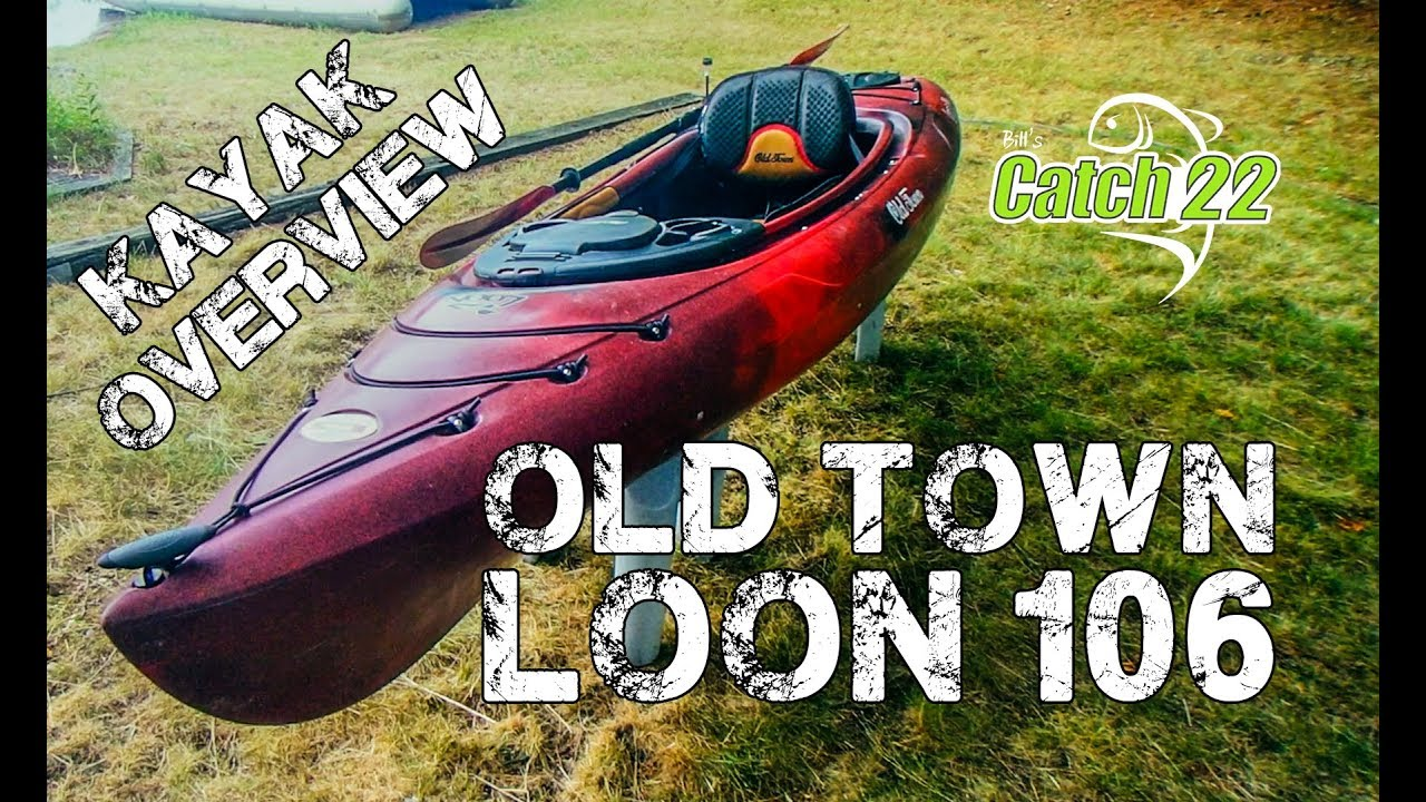 Old Town Loon 106 Kayak - Overview