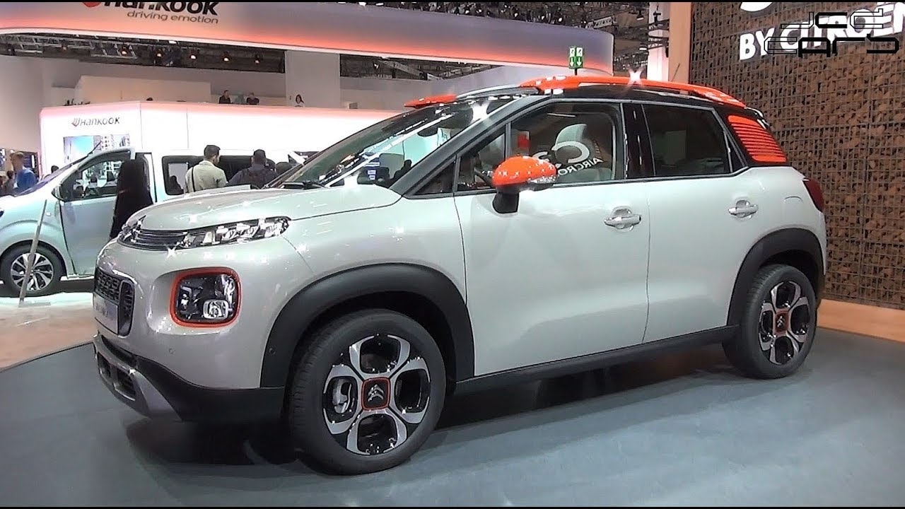 der neue citroen c3 aircross first look walkaround test iaa 2017 youtube. Black Bedroom Furniture Sets. Home Design Ideas