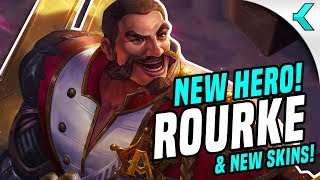 NEW HERO ROURKE!! And New Skins | AoV News