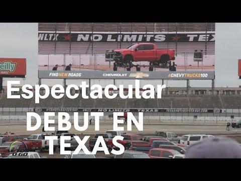 Debut Chevrolet Silverado 2019 en el Texas Motor Speedway