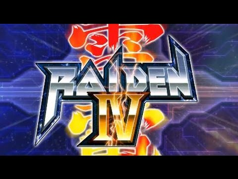 CLASSIC GAMES # 75 RAIDEN IV OVERKILL GAMEPLAY |