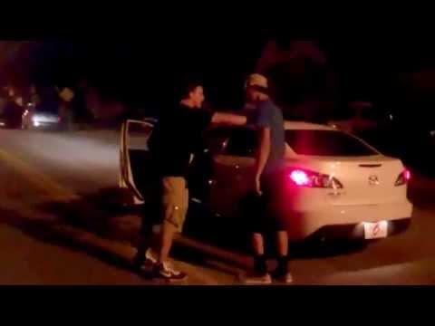 RANDOM GUY FIGHTS FRIEND AND GETS JUMPED!