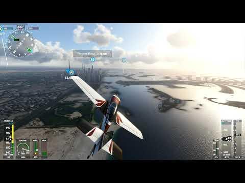 Dubai (Burj Al Arab & Palm Islands) – Microsoft Flight Simulator 2020