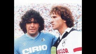 Zico Vs Maradona - Udinese x Napoli (1985)