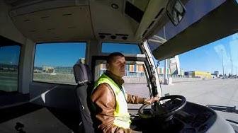 Работа на летището - Шофьор на тежкотоварен автомобил