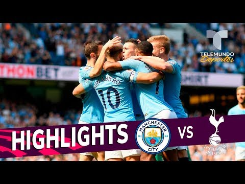 Manchester City vs. Tottenham: 1-0 Goals & Highlights | Premier League | Telemundo Deportes