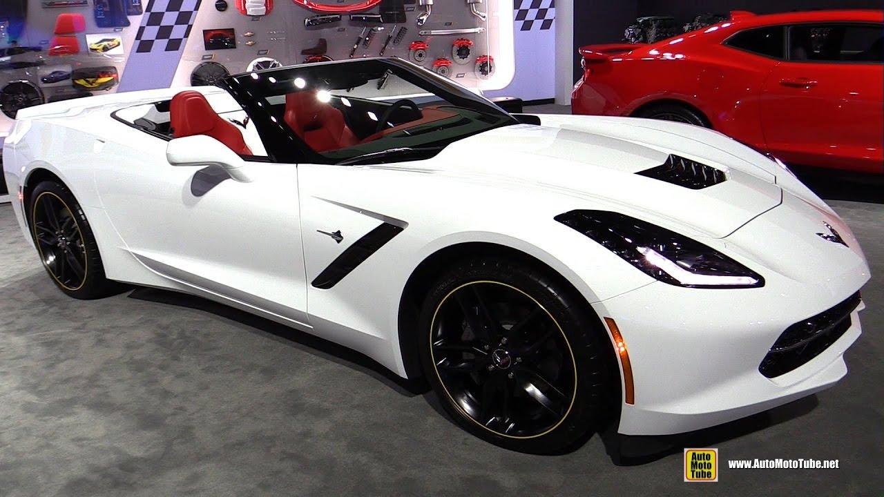 2017 Chevrolet Corvette Convertible Exterior And Interior Walkaround 2016 La Auto Show