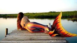 Хвост русалки ОБЗОР огненно-черный