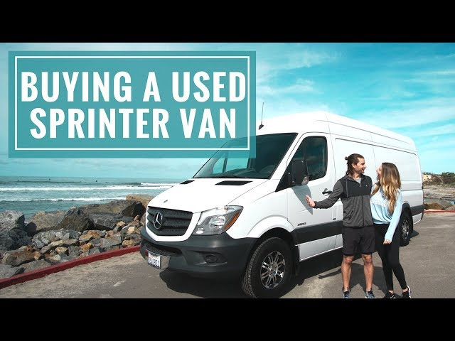 VAN LIFE BUILD: Buying A Used Sprinter Van & Starting Van Insulation