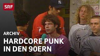 Hardcore und Punk Reportage (1992) | Jugendszenen in der Schweiz | SRF Archiv