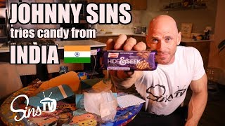 Tasting Candy from India || Johnny Sins Vlog #30 || SinsTV