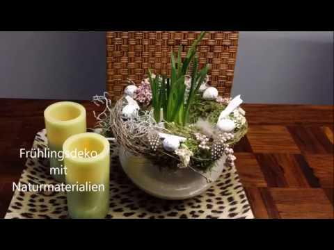 Frühlingsdeko Mit Naturmaterialien   Bärbel´s Wohn U0026 Deko Ideen