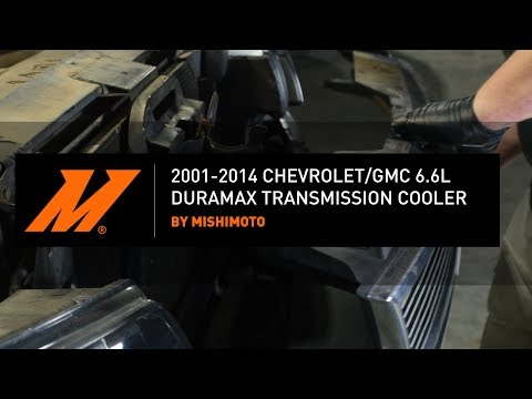 2001-2014 Chevrolet/GMC 6.6L Duramax Transmission Cooler Installation Guide By Mishimoto
