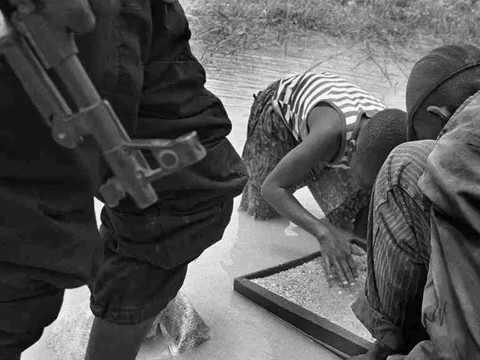 Mines de diamants exploitation artisanale, République Démocratique du Congo, Mbuji Mayi