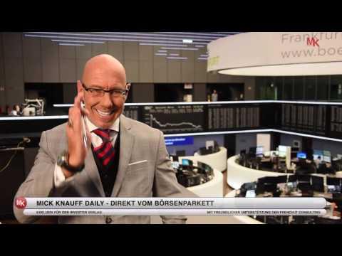 Fresenius-Aktien: Stabile Depot-Anker in stürmischen Zeiten! Mick Knauff Daily - 03.08.2016
