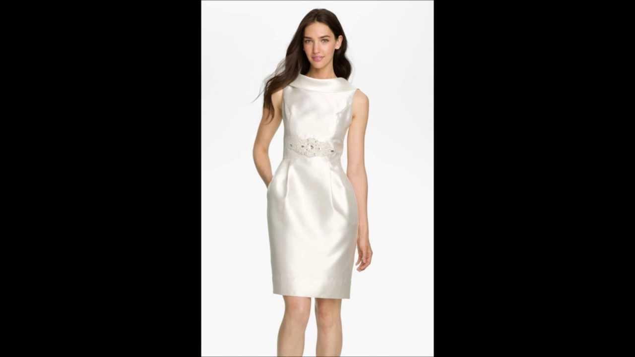 Vestidos formales para boda cortos