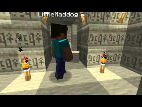 Minecraft Trap - Ancient Tomb