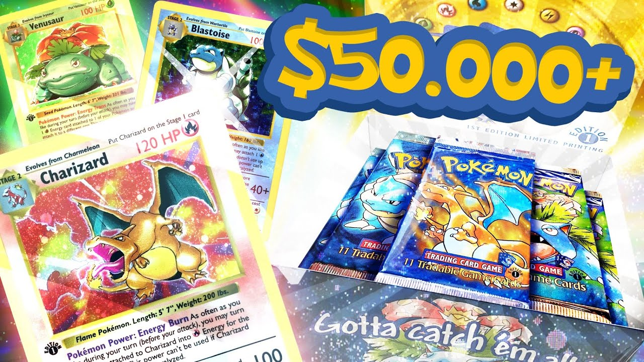 pokemon first edition booster box