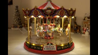 Lemax Grand Carousel 2018 - Review