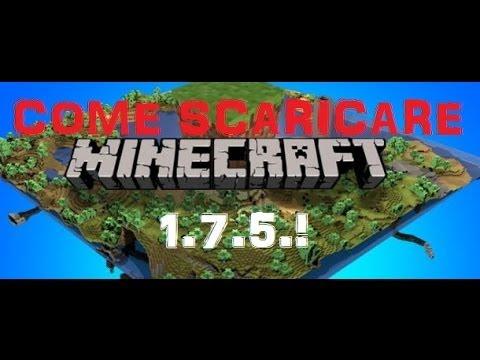 Come scaricare Minecraft SP 1.7.4 (AGGIORNABILE) GRATIS ...
