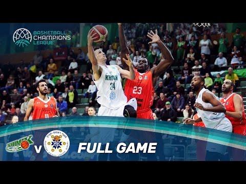 Khimik v Maccabi Rand Media - Full Game - Basketball Champions League