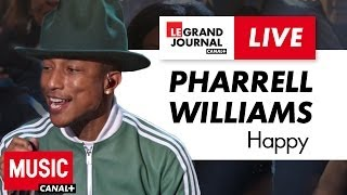Pharrell Williams - Happy - Live du Grand Journal