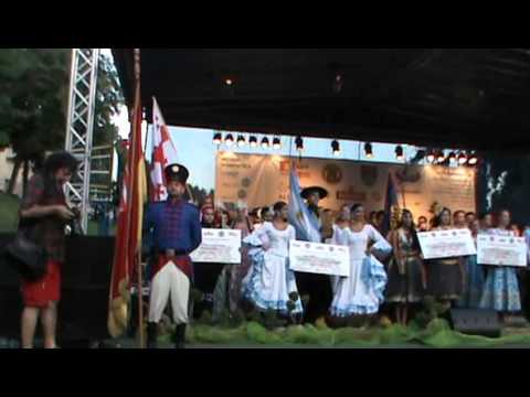 Međunarodni festival folklora Karlovac 2014 (1-1/7): Mimohod / Otvorenje festivala