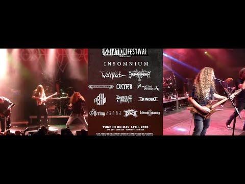 Isolation Festival 2020 feat Voivod, Borknagar, Insomnium, Lucifer and more..!