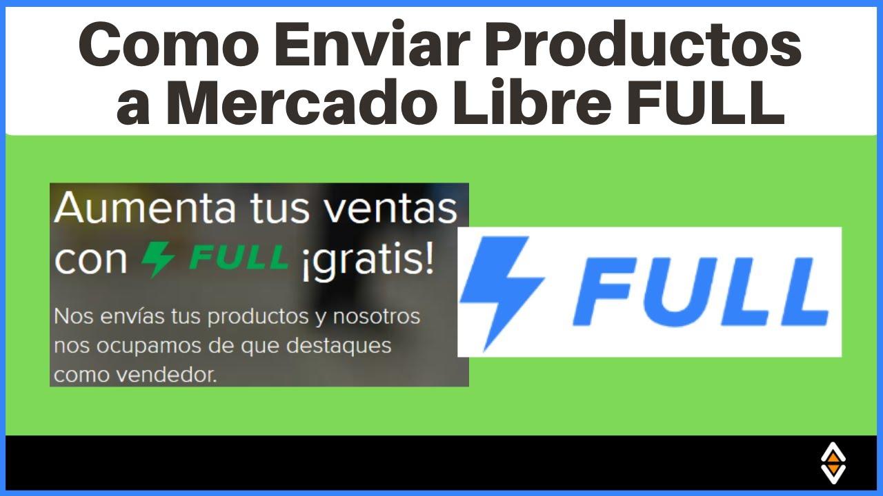 🚚 Como ENVIAR PRODUCTOS a MERCADO LIBRE FULL [Mercado Envíos FULL Paso a Paso] Con 30% de DESCUENTO