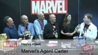 Hayley Atwell Goes In-Depth About Marvel's Agent Carter on ABC at SDCC 2014