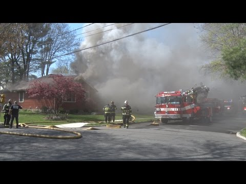 VIDEO: Fire From Barbecue Grill Guts Washington Township Home