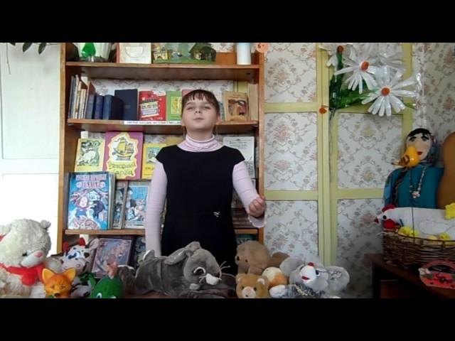 Изображение предпросмотра прочтения – ВоронцоваАлина читает произведение «Путаница» К.И.Чуковского