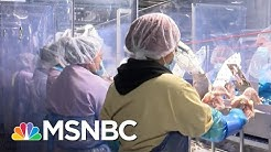 A Rare Look Inside A Tyson Meat Plant In Arkansas   MSNBC