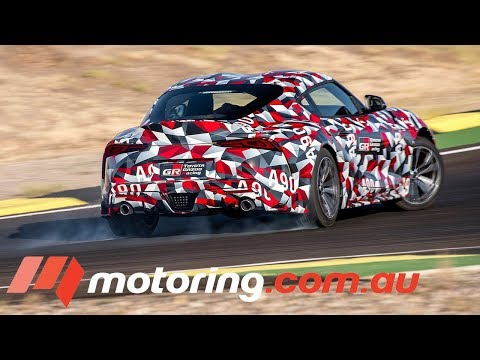 2019 A90 Toyota Supra Prototype - First Drive