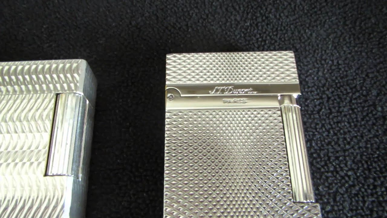 S T Dupont Lighter Fake Or Not Part 1 Youtube