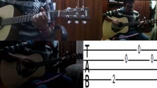 Guitar Tutorial Matloob Za3eem Cairokee ( TAB ) - تعليم اغنية مطلوب زعيم كايروكى جيتار تاب