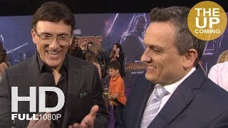 Avengers Infinity War Directors Anthony And Joe Russo Interview At Premiere Los Angeles