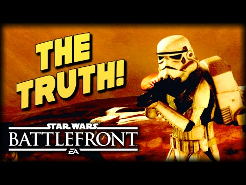 The Truth About the Sarlacc Pit : STAR WARS Battlefront Machinima